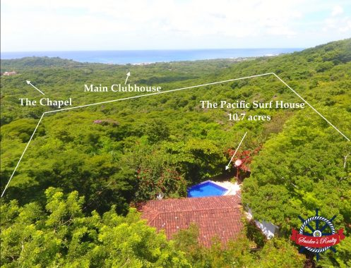 Pacific Surf House 10.7 Acres