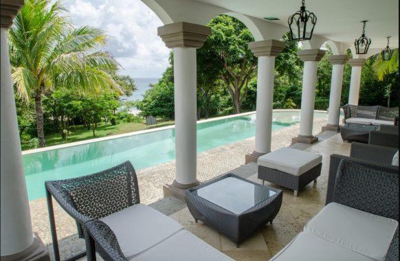 Casa Guacalito pool