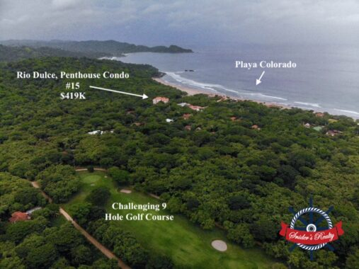Rio Dulce 15 South Facing Drone HI